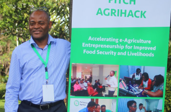 Ken Lohento, ICT4Ag Programme Coordinator at CTA, is involved in managing CTA's Pitch AgriHack! initiative © CTA