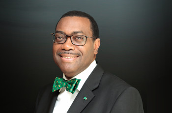 Dr Akinwumi Adesina is president of the African Development Bank and recently won the 2017 World Food Prize for his leading role in expanding food production in Nigeria © AfDB