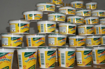 A long-life, fridge-free margarine called Sunspread has been produced in Malawi by Sunseed Oil Limited – a beneficiary of the Malawi Innovation Challenge Fund © Charles Mkoka