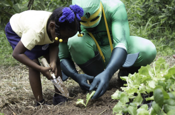 Agriman is transforming young people's perception of agriculture. © Luke Smith