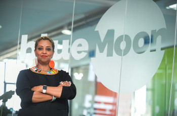 Before founding blueMoon, Dr Eleni Gabre-Madhin created the Ethiopian Commodity Exchange to boost trade and incomes for smallholder coffee producers © Michael Tewelde