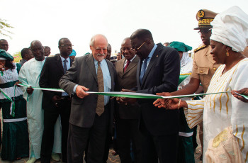 Inauguration of the AfricaRice Training Centre © AfricaRice