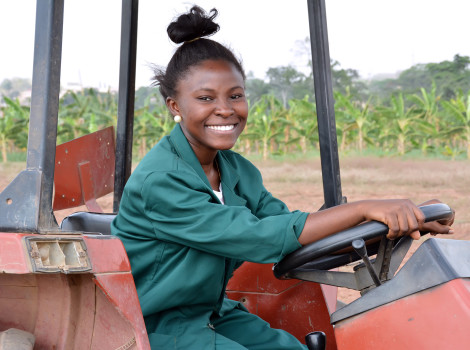 Agricultural production is central to young people's livelihoods. © Idris Adeniyi/IITA