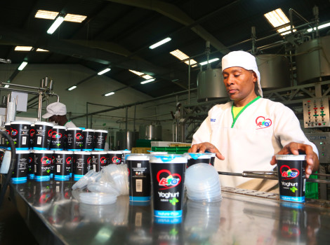 Bio Food Products Ltd in Kenya works with local farmers to produce a range of high-quality dairy products © USAID East Africa Trade and Investment Hub