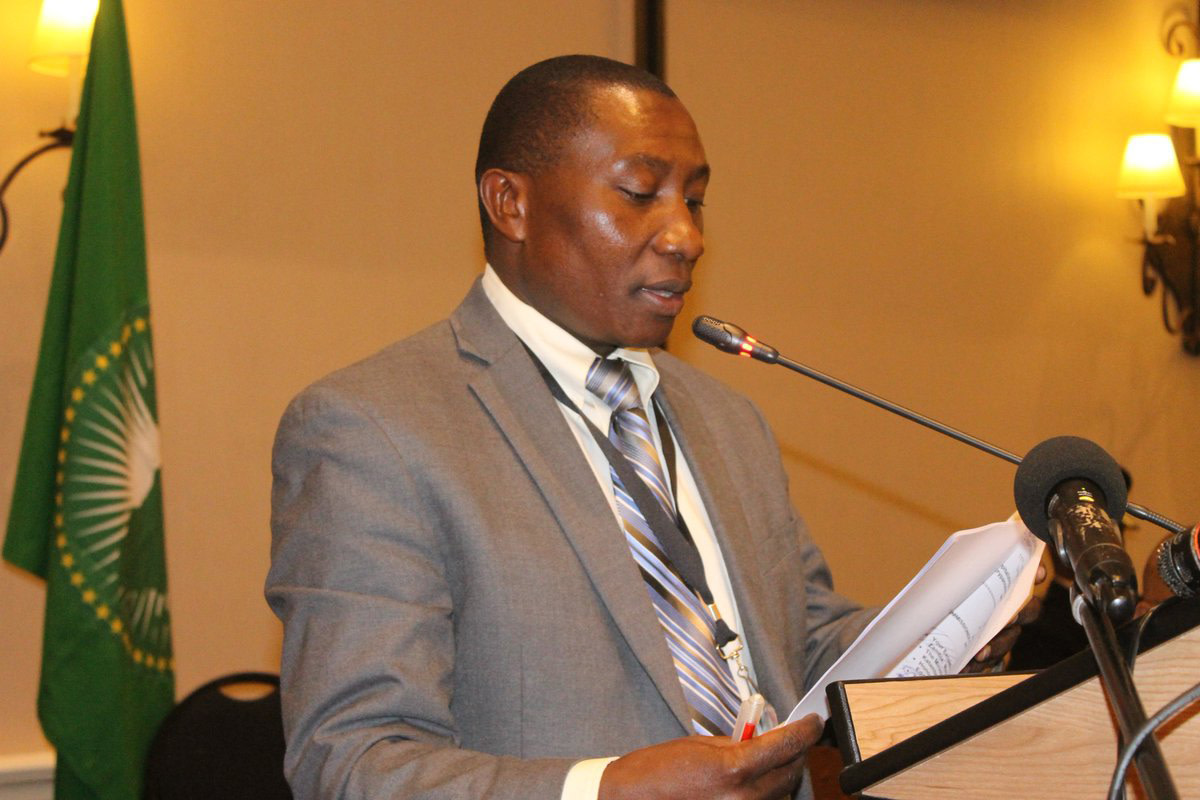 Dr Bahiigwa stresses the importance of transparency in policymaking for agricultural development © AU-IAR
