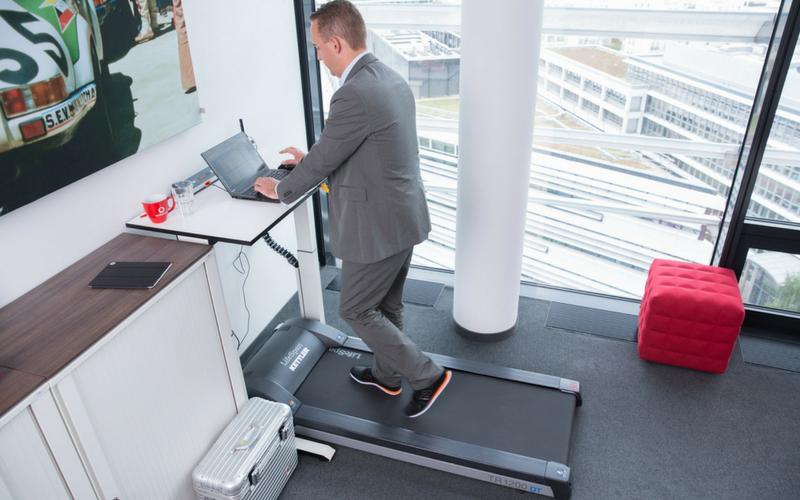 Gesundheitsmanagement in der eigenen firma macht das sinn for Schreibtisch laufband