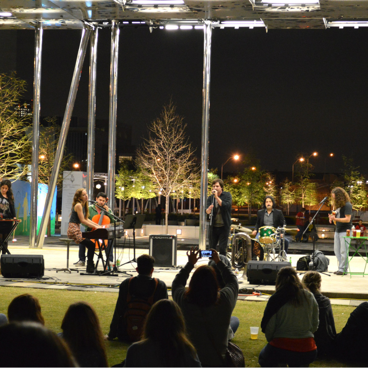 Music Thursday in Klyde Warren Park in Dallas