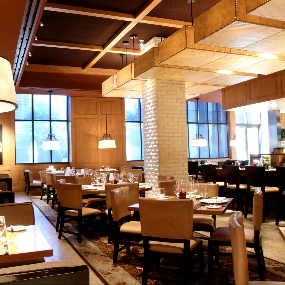 Interior of Fearing's Restaurant at the Ritz-Carlton, Dallas