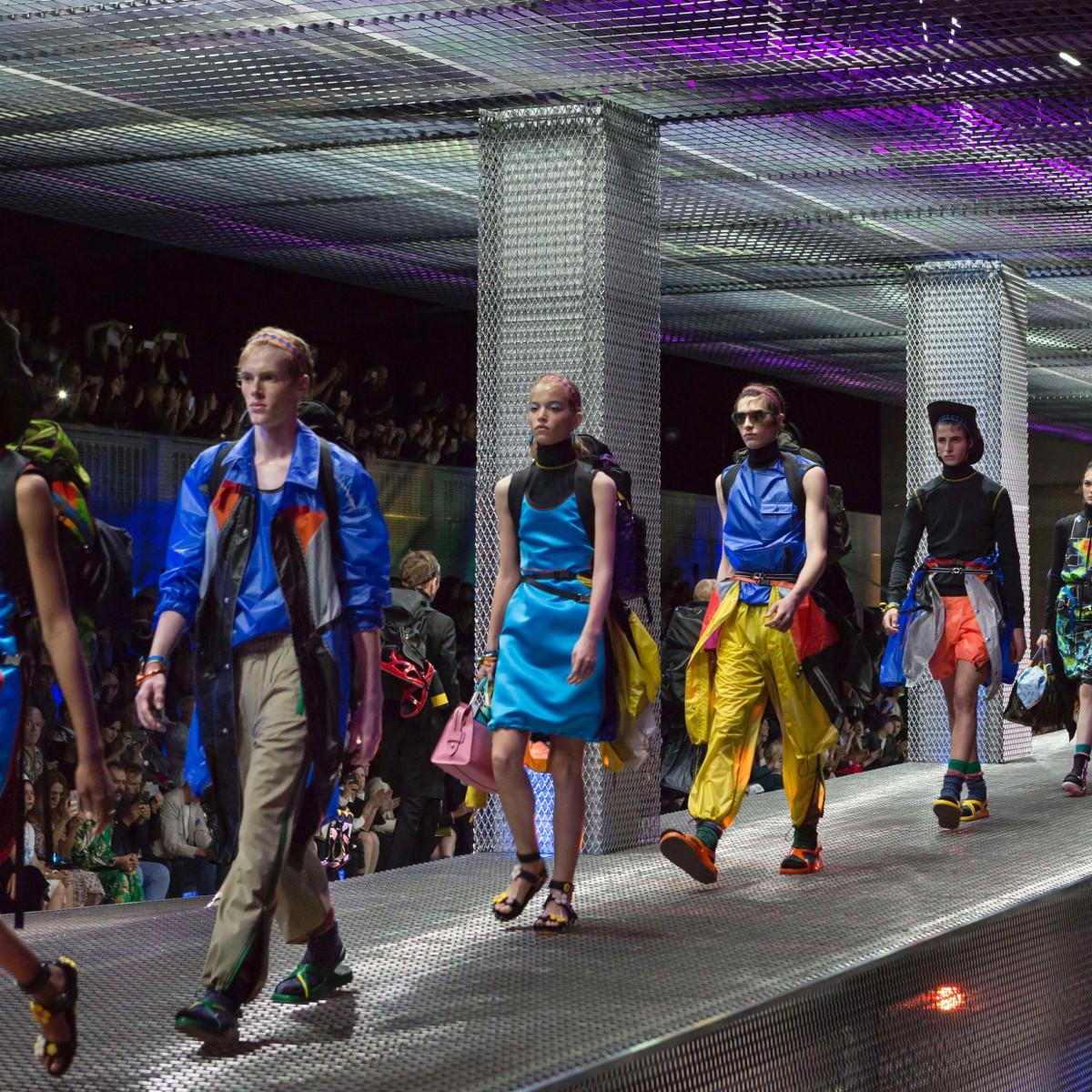 Prada menswear spring 2017 and womens resort