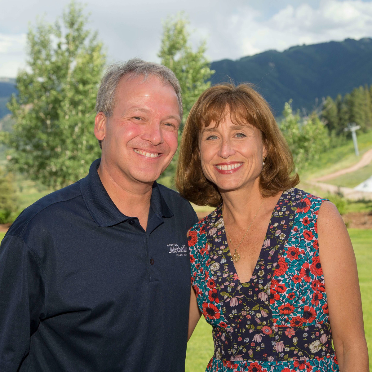 Houston Methodist in Aspen, July 2016, Dr. Marc Boom, Dr. Julie Boom