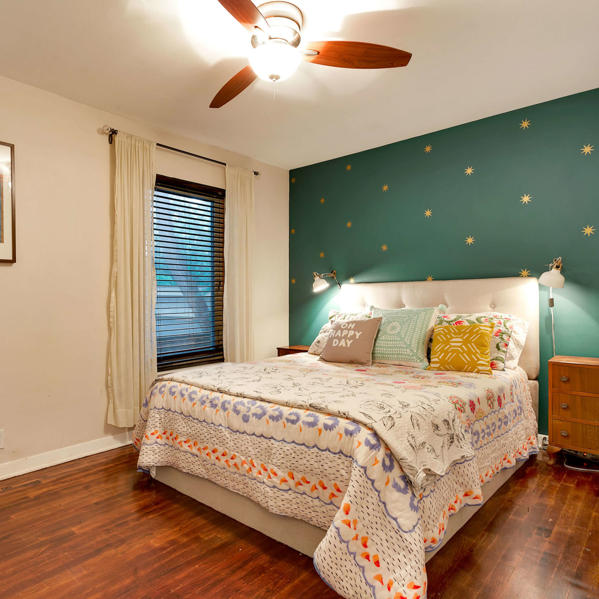 East Austin house home 1131 Poquito Street 78702 bedroom