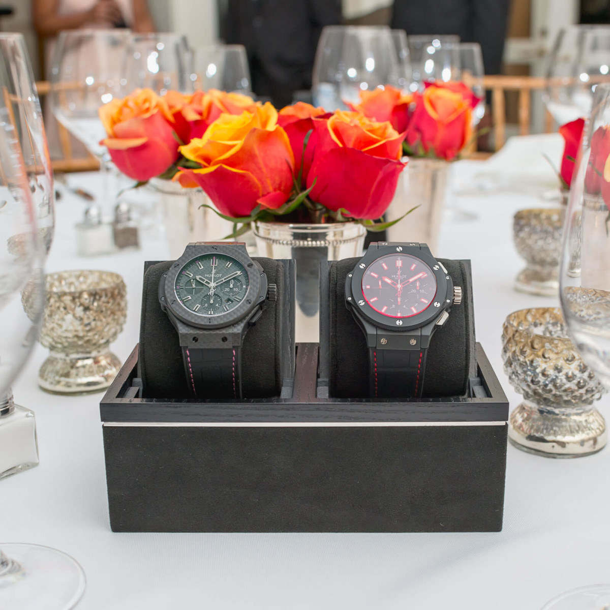 Olympic Basketball party 7/16, Hublot watch