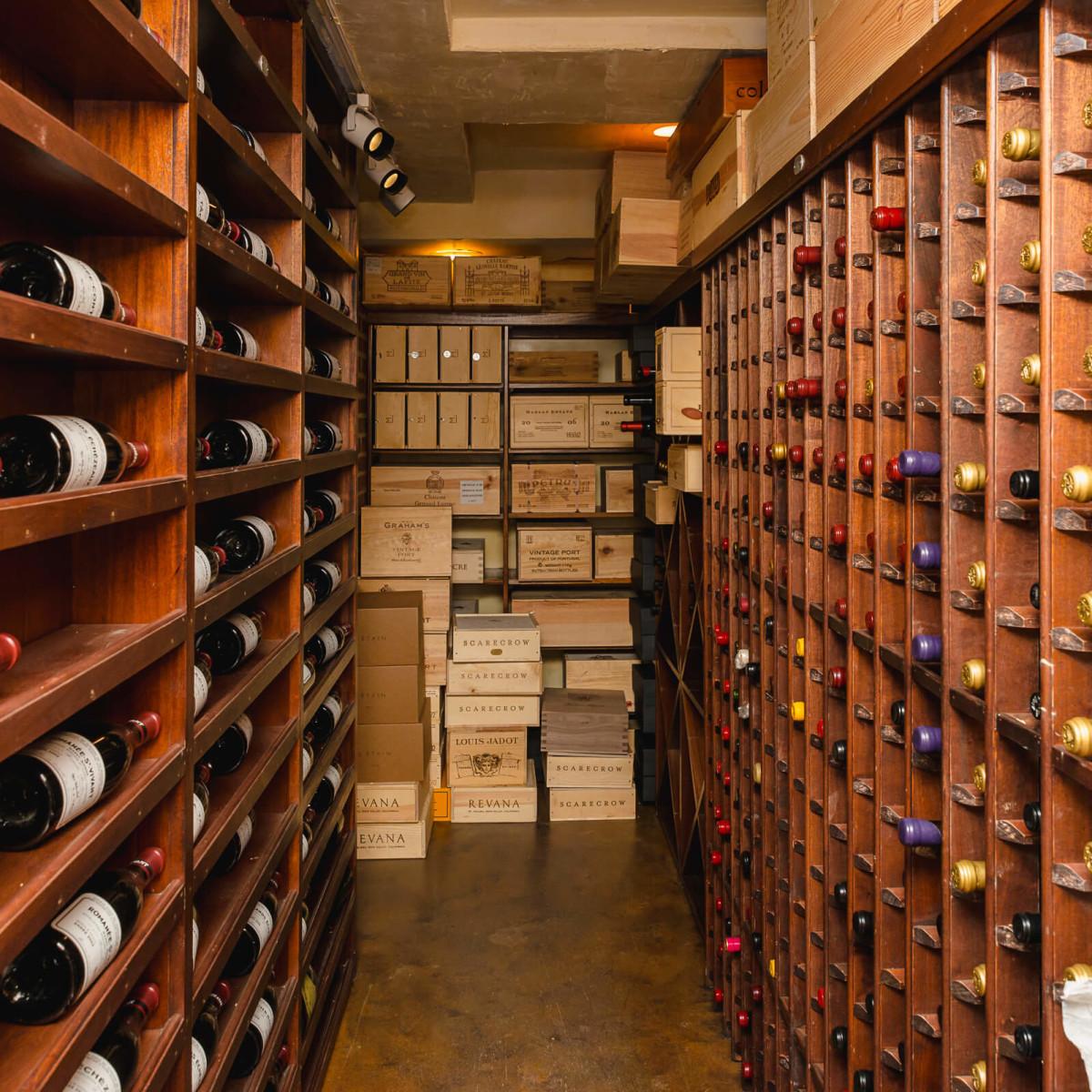 Olympics, Devinder Bhatia wine cellar 7/16