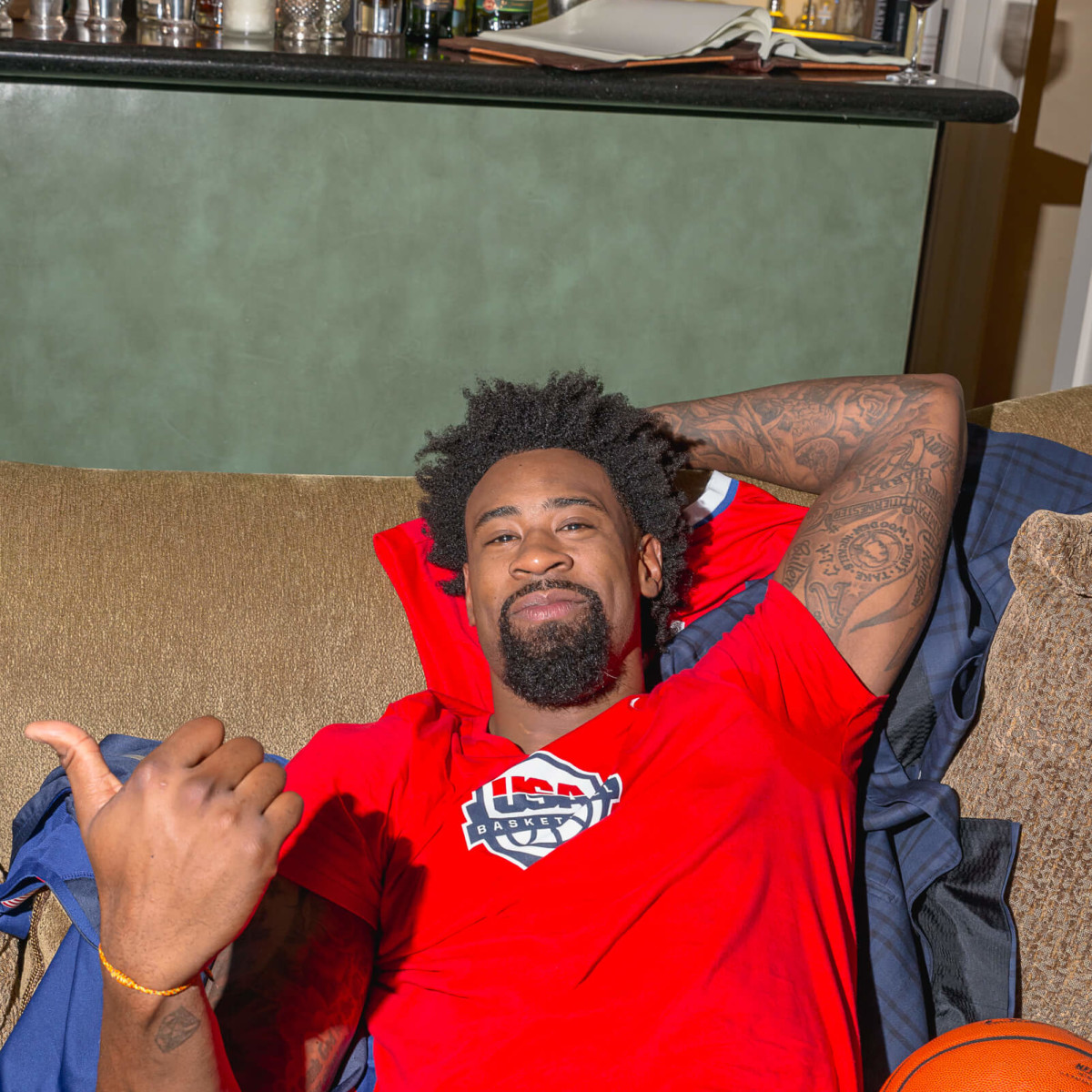 Olympic Basketball party 7/16, Hublot watch, DeAndre Jordan