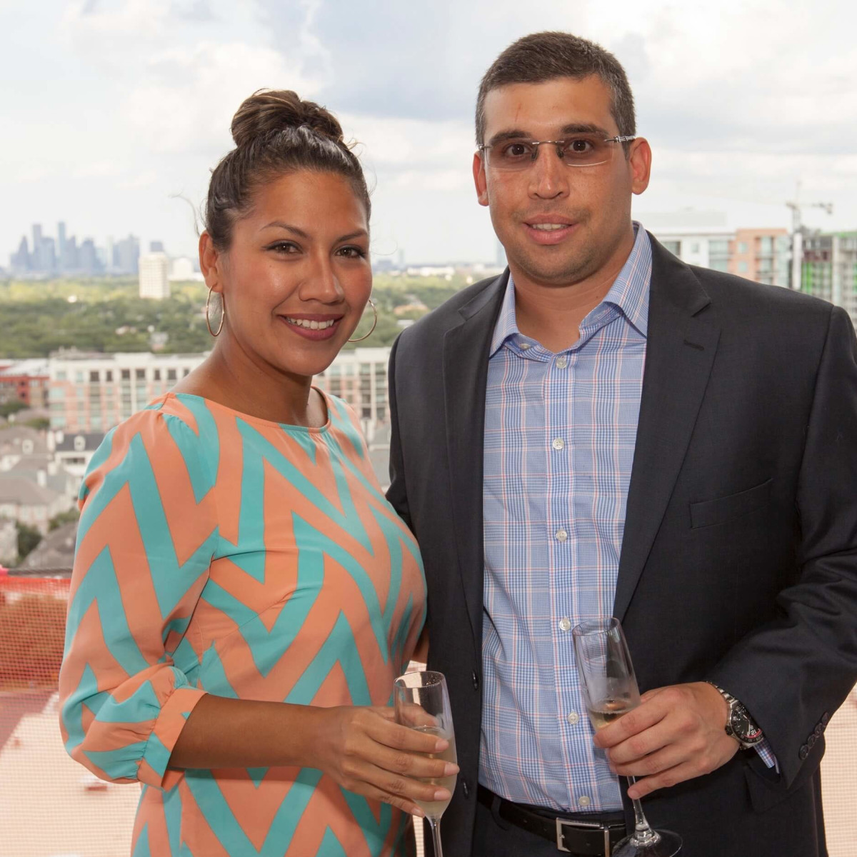 Wilshire Topping Out, July 2016, Jessica Castanon, Alberto Castanon