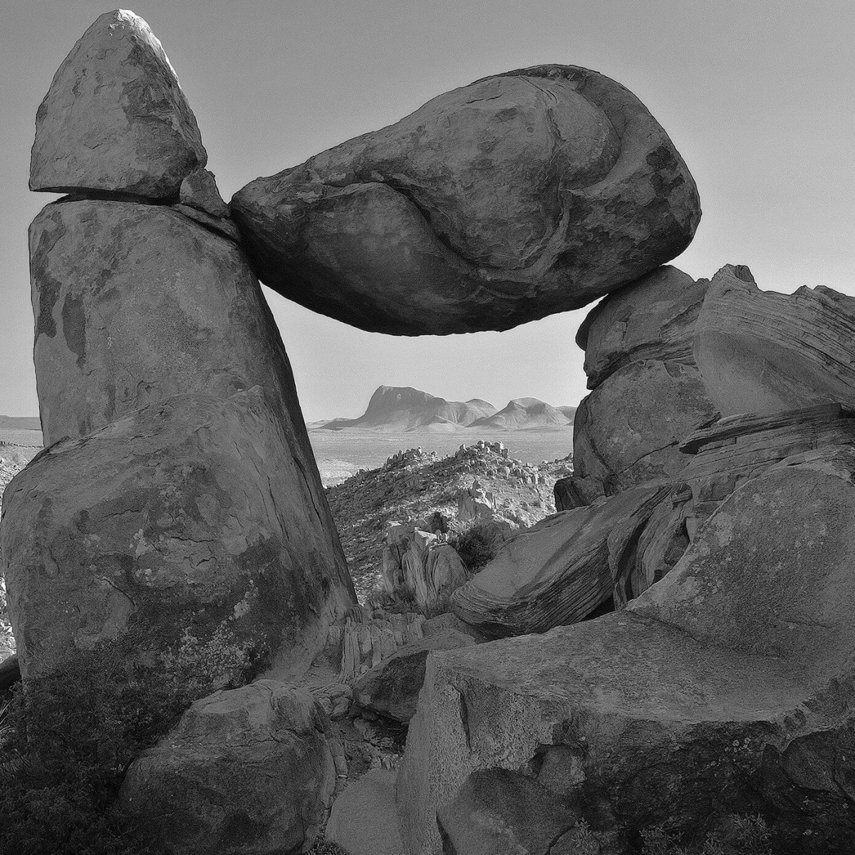 Mark Burns photo of Balanced Rock at Big Bend National Park