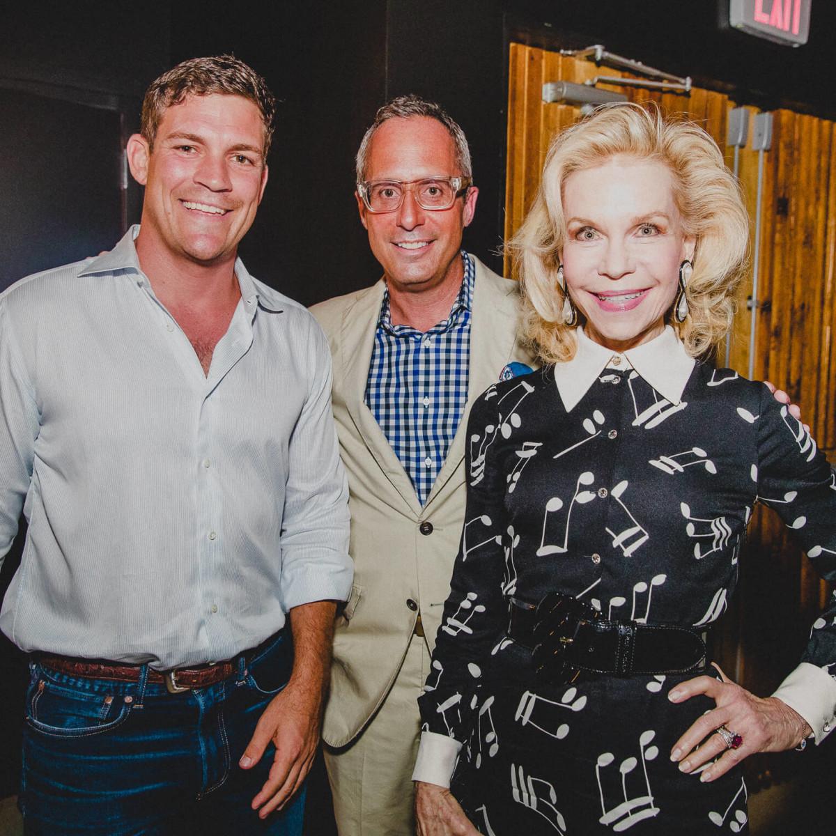 White Oak Music Hall Opening, 8/16, Will Garwood, Mark Sullivan, Lynn Wyatt