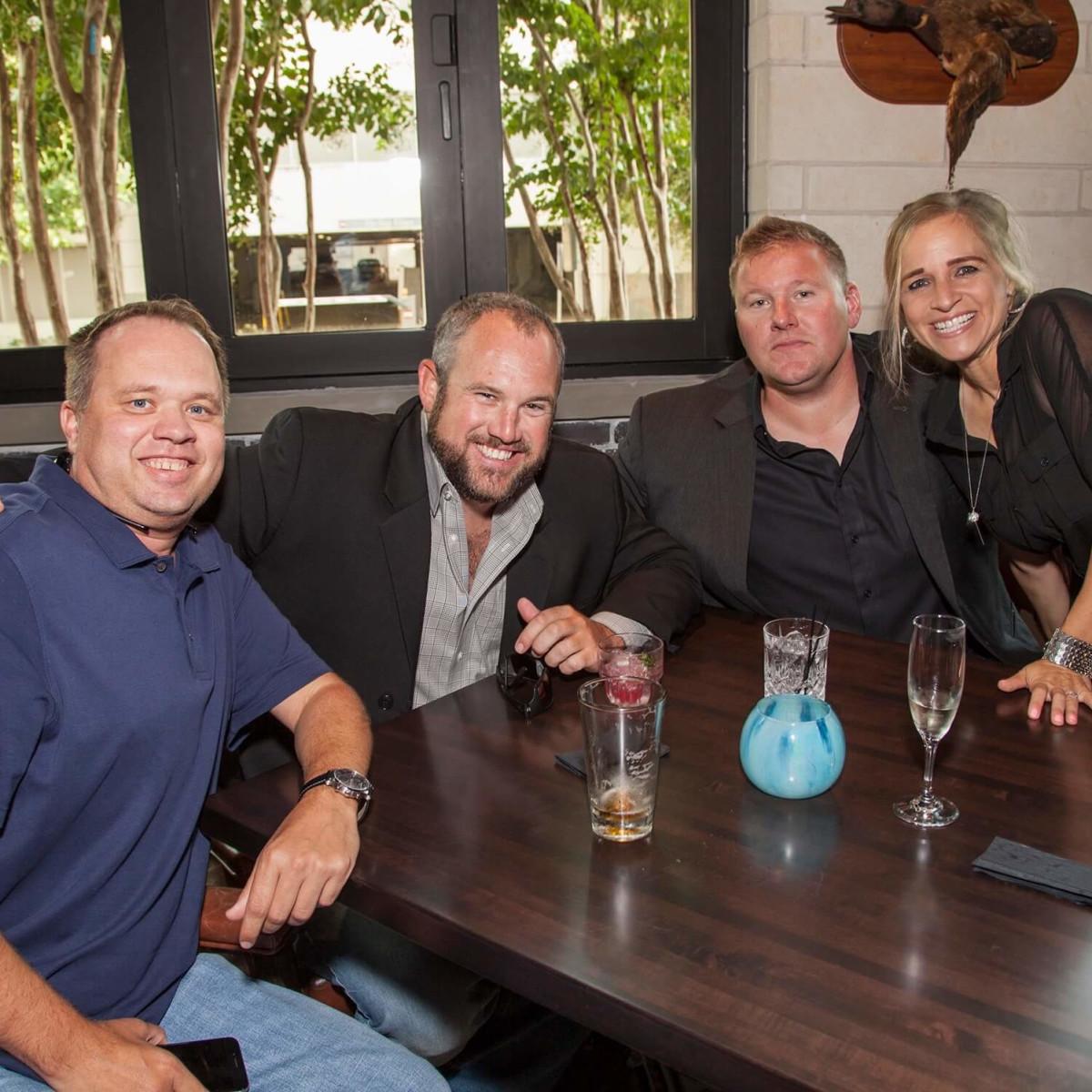 The General Public opening, 8/16, Matt Kooistra, Matt Trissel, Chad Stephens, Marissa Stephens