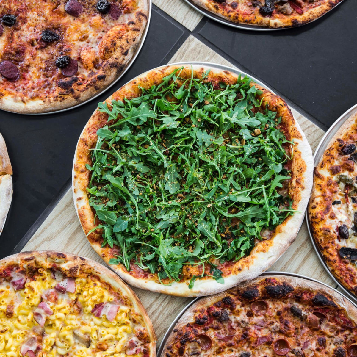 Pi Pizza selection