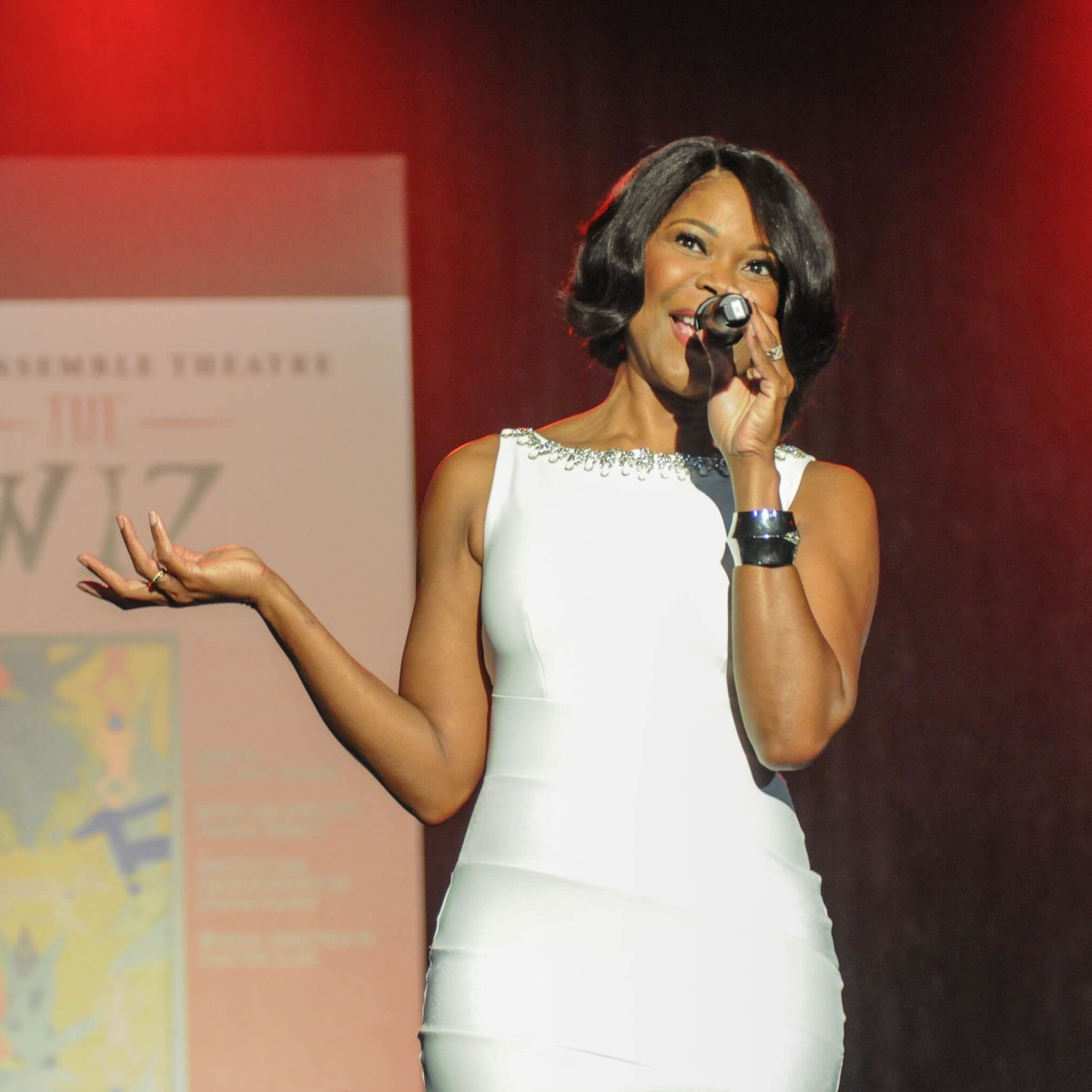 Ensemble Theatre gala, 8/16, Angela Robinson