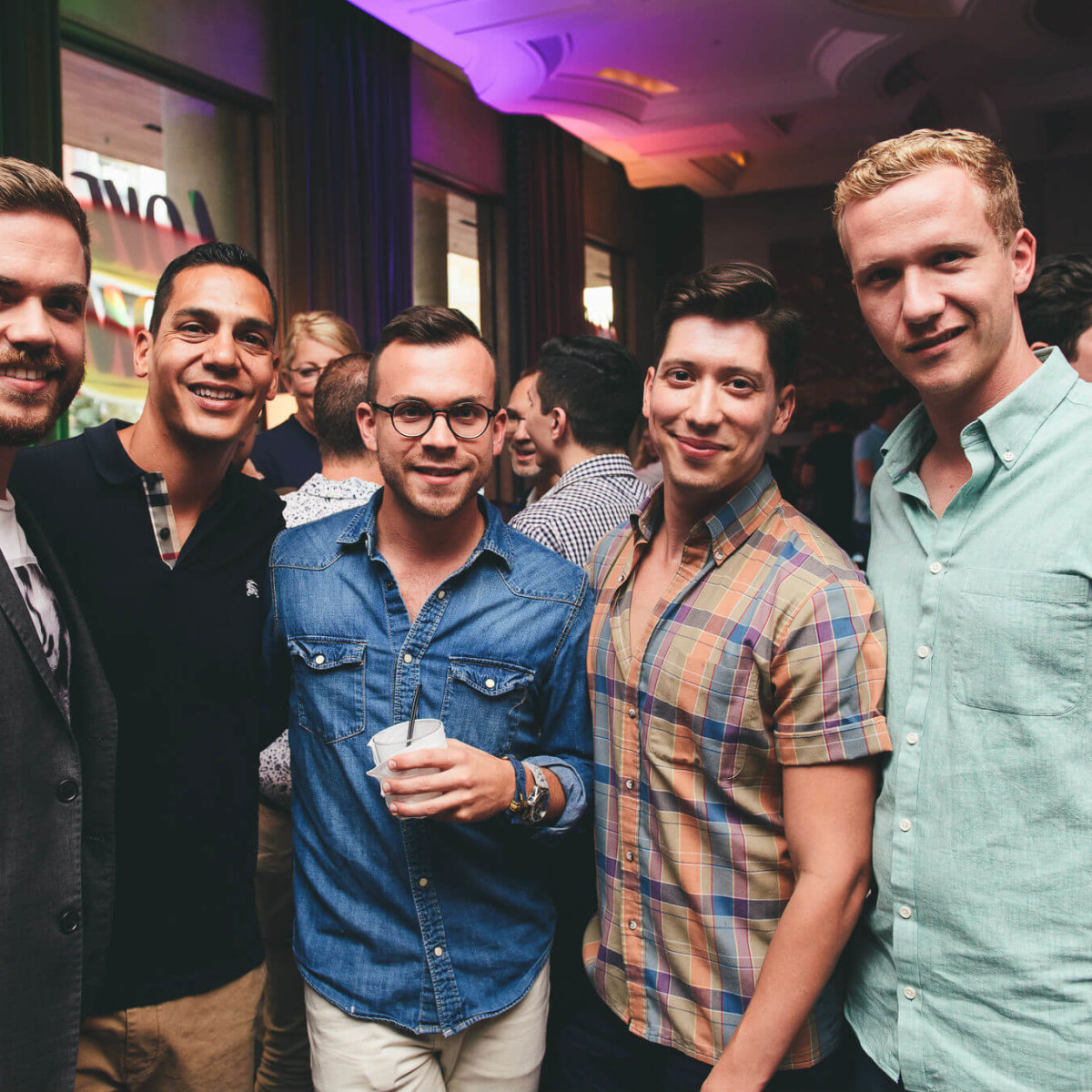 Turn it Up for Change Human Rights Campaign W Austin hotel Austin Pride 2016 James Hearne Eric Luna David Diaz Gilbert Hernandez Matthew Mercer