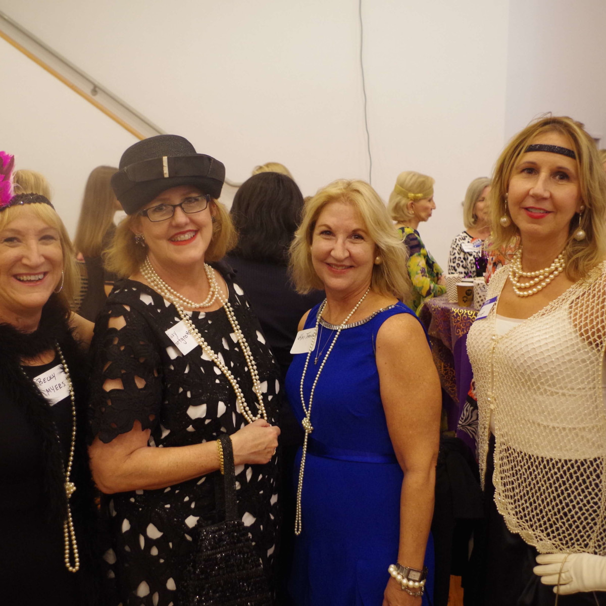 Becky Myers, Suzy Hartgrove, Kay Thompson and Kim Jessup Houston's Women's Equality Day Celebration