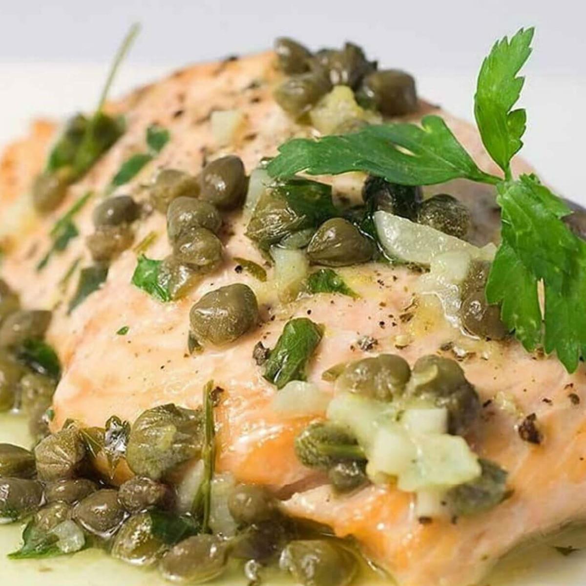 Adelmo's salmon