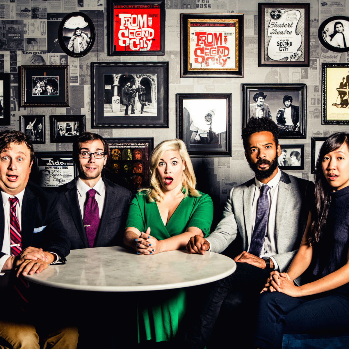 Cast of Second City's Unelectable You