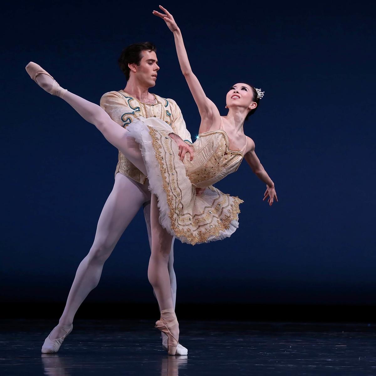 Houston Ballet, Theme and Variations, Connor Walsh, Yuriko Kajiya