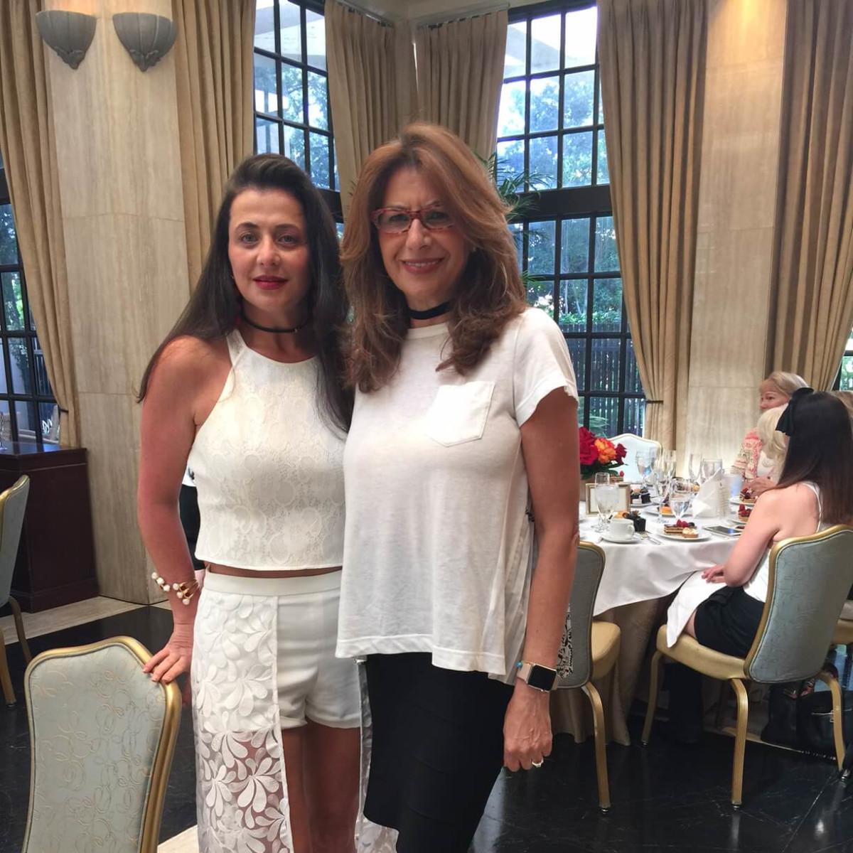 Fe Zande Fashion Show, Sept. 2016, Carol Gaugerhoo, Eva Farah