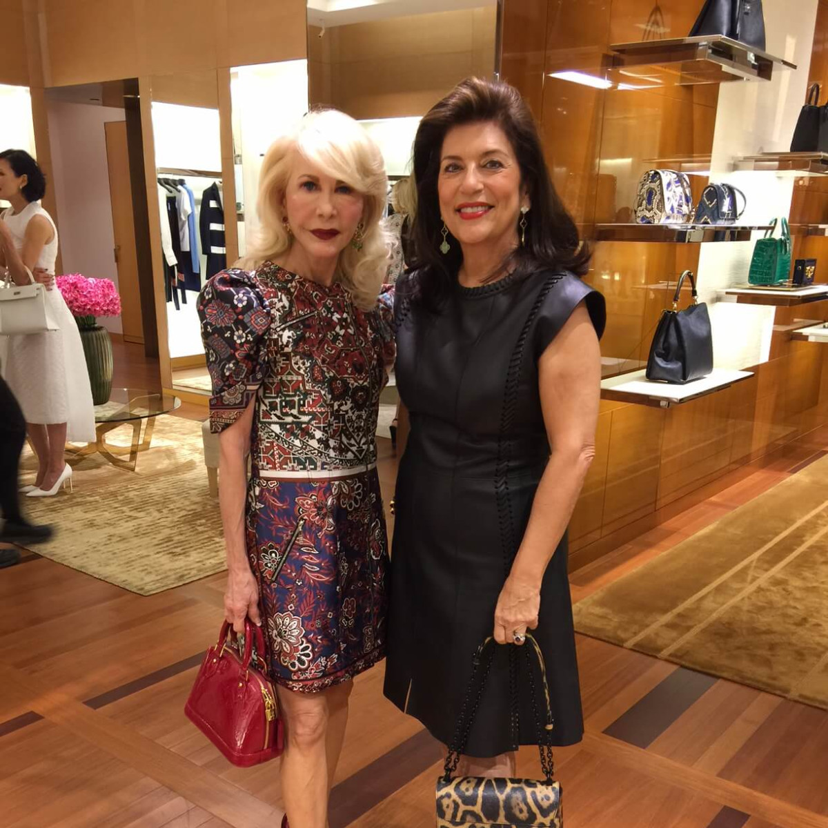 Vogue, Louis Vuitton lunch, 9/26 Diane Lokey Farb, Dancie Ware
