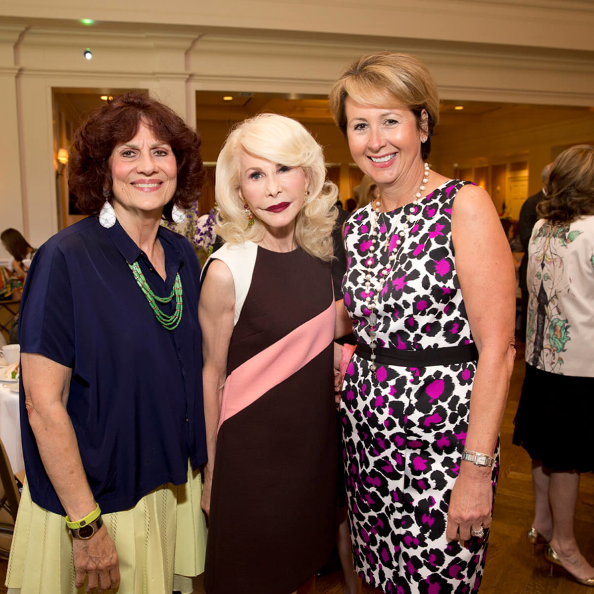 Ladies for Literacy, 9/16, Donna Vallone, Diane Lokey Farb, Ileana Trevino