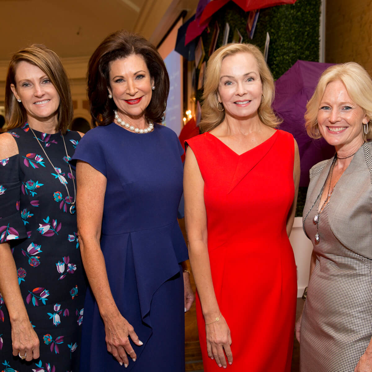 Ladies for Literacy, 9/16, Stephanie Tsuru, Betty Hrncir, Alice Mosing, Trish Morille