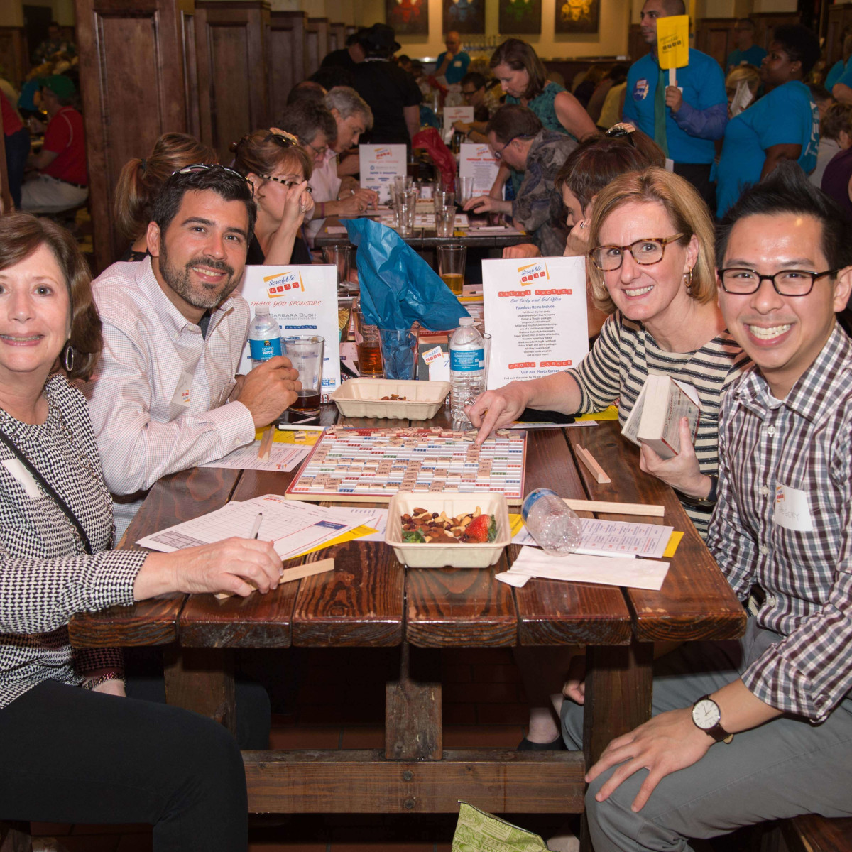Scrabble in the City, Houston, 9/16, Tracy Janda; Geoff Castro; Eydie Pengelly; Gregory Gee