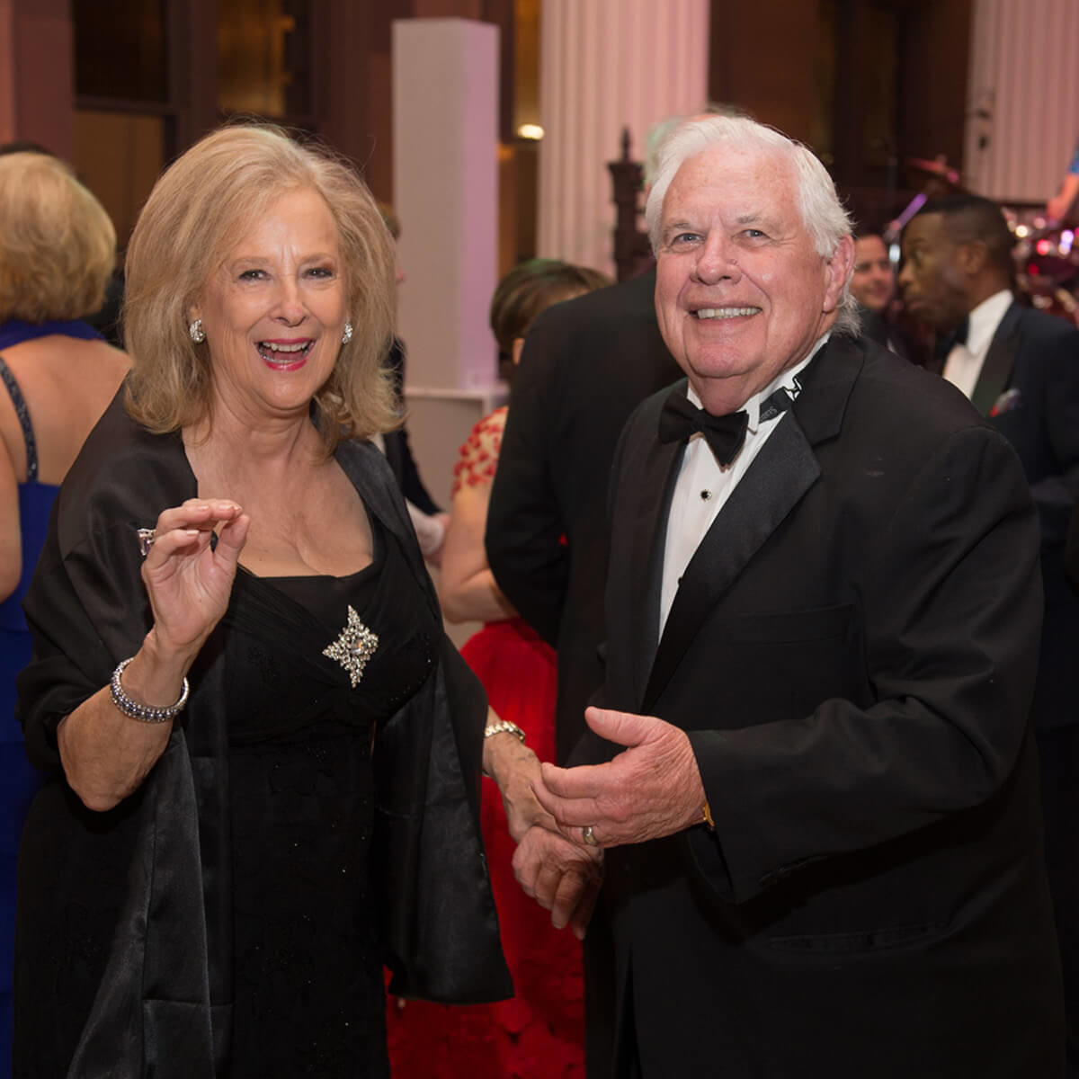 Houston Symphony Opener, 9/16,  Mary Ann McKeithan, David McKeithan