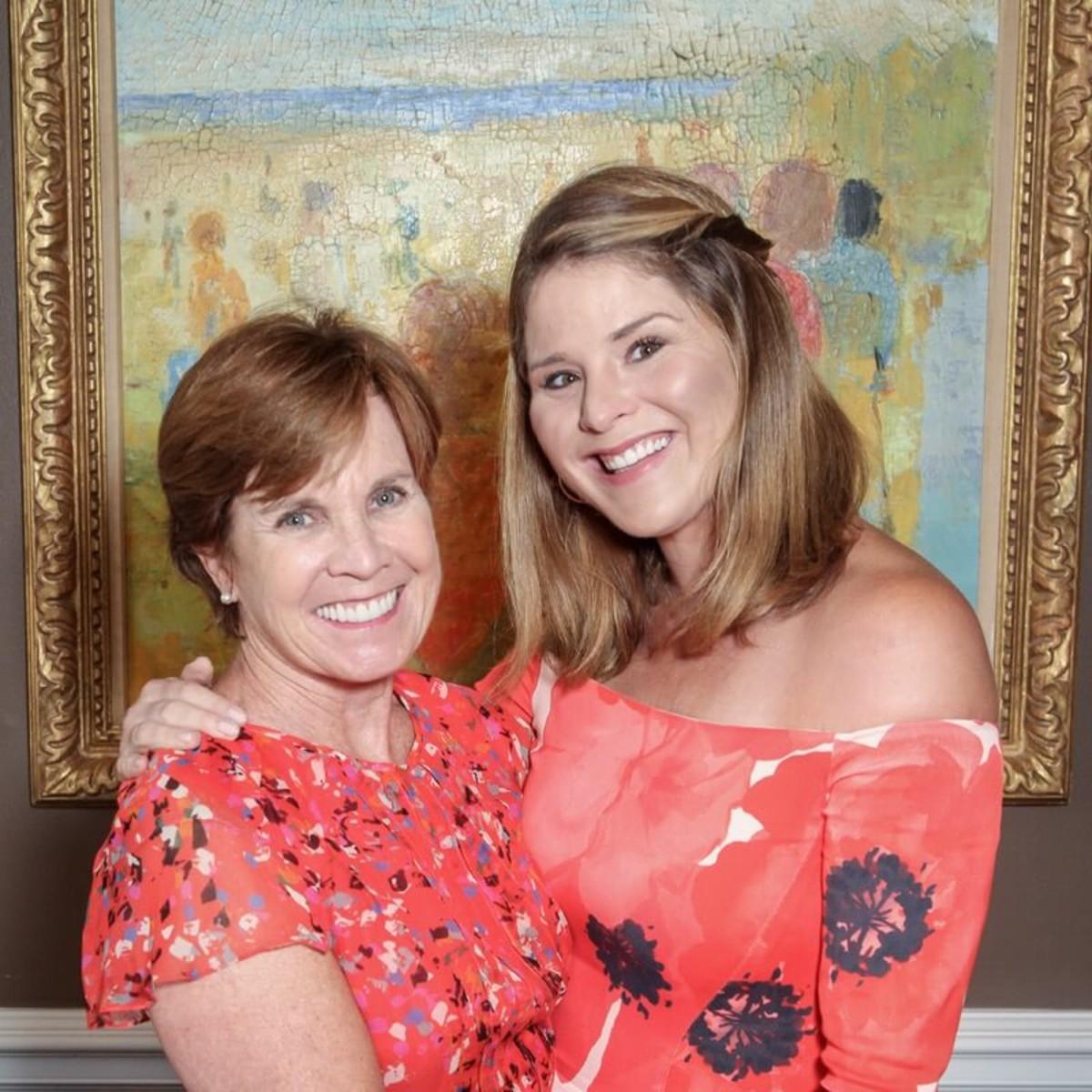 Mental Health Association luncheon, 9/16 Maureen Hackett, Jenna Bush Hager