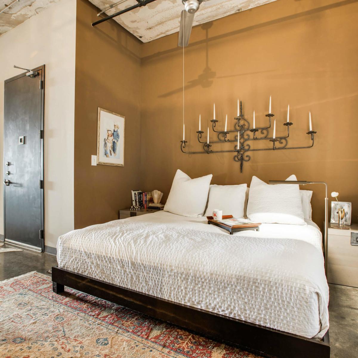 Bedroom at 1122 Jackson St. in Dallas