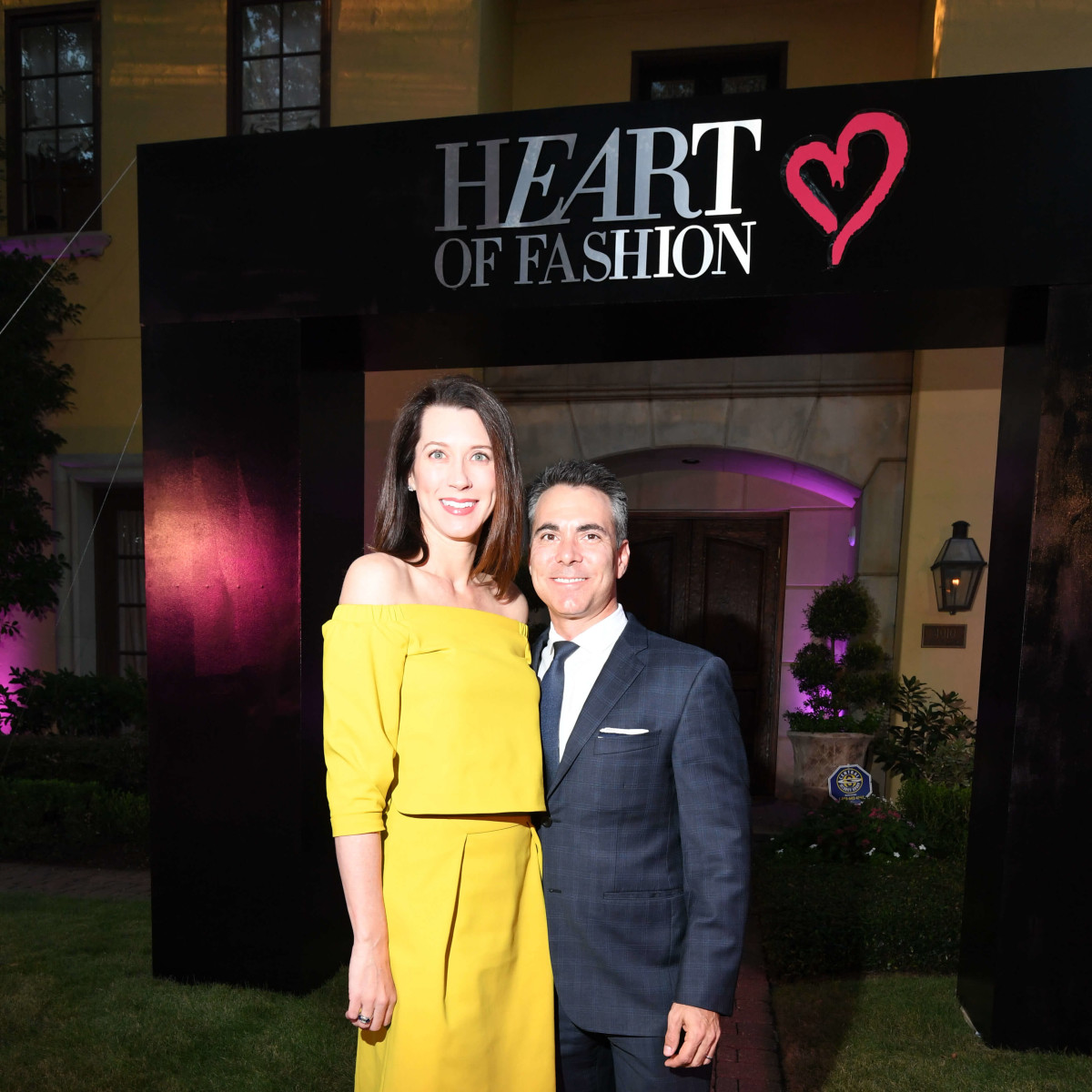 Heart of Fashion Laura Jones, Steve Jones