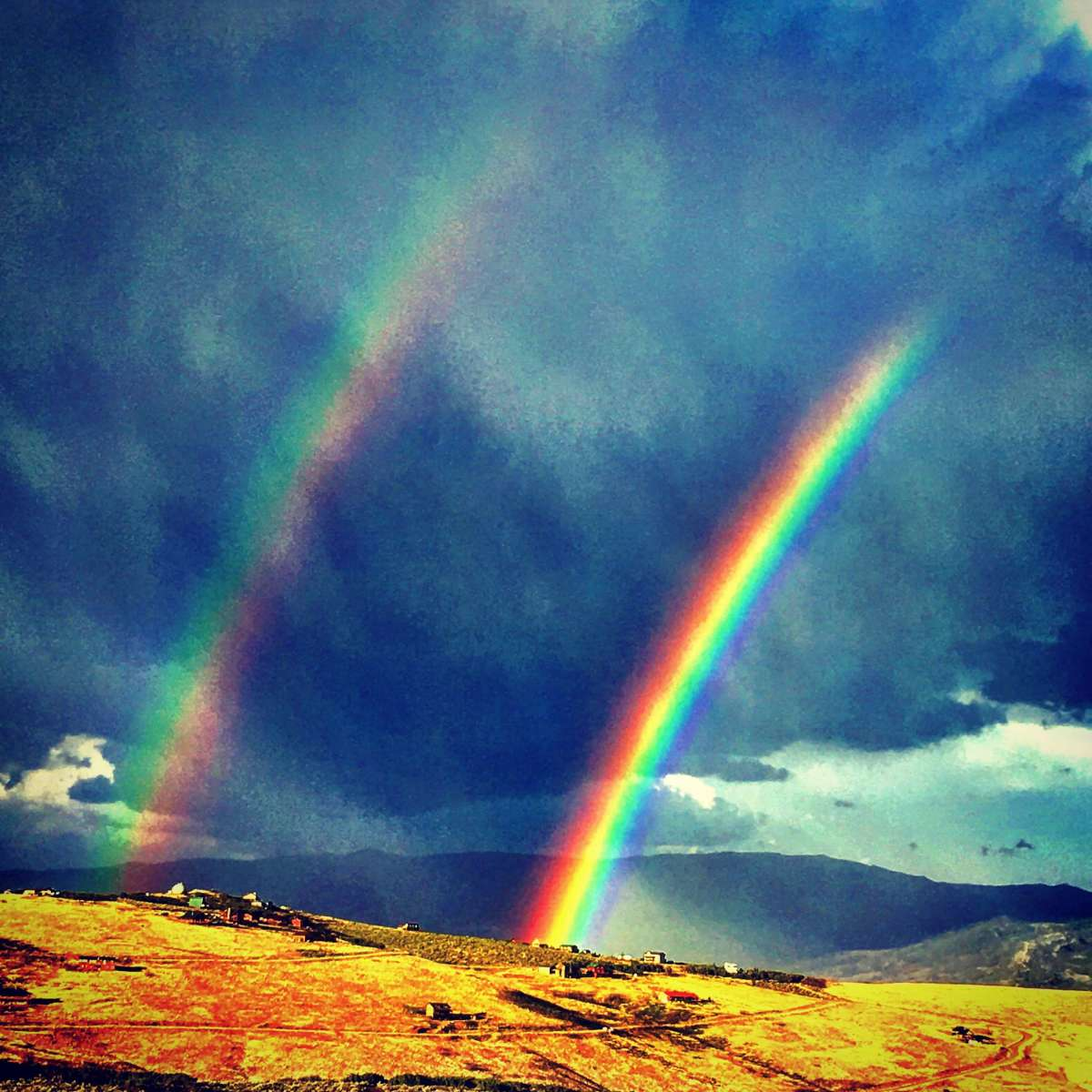 Rainbows sooth the soul