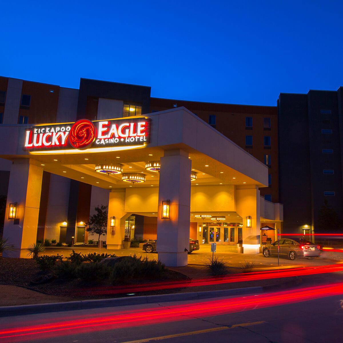 Kickapoo Lucky Eagle Casino exterior
