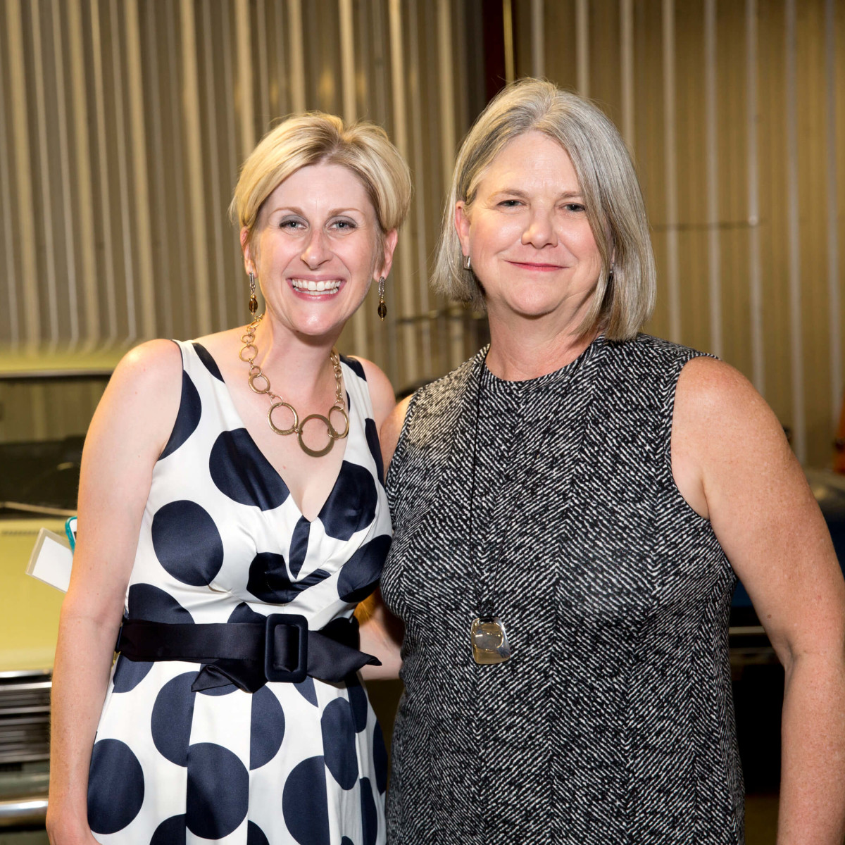 Houston, Art of Conversation kick off, Oct. 2016, Nicole Longnecker and Ella Park
