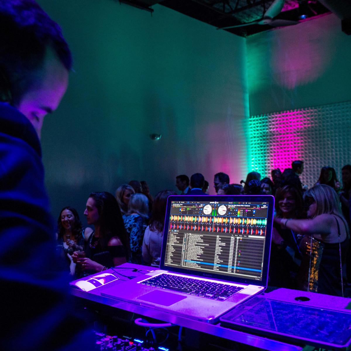 Houston, RYDE/Rose Foundation event, Oct. 2016, DJ PennyT