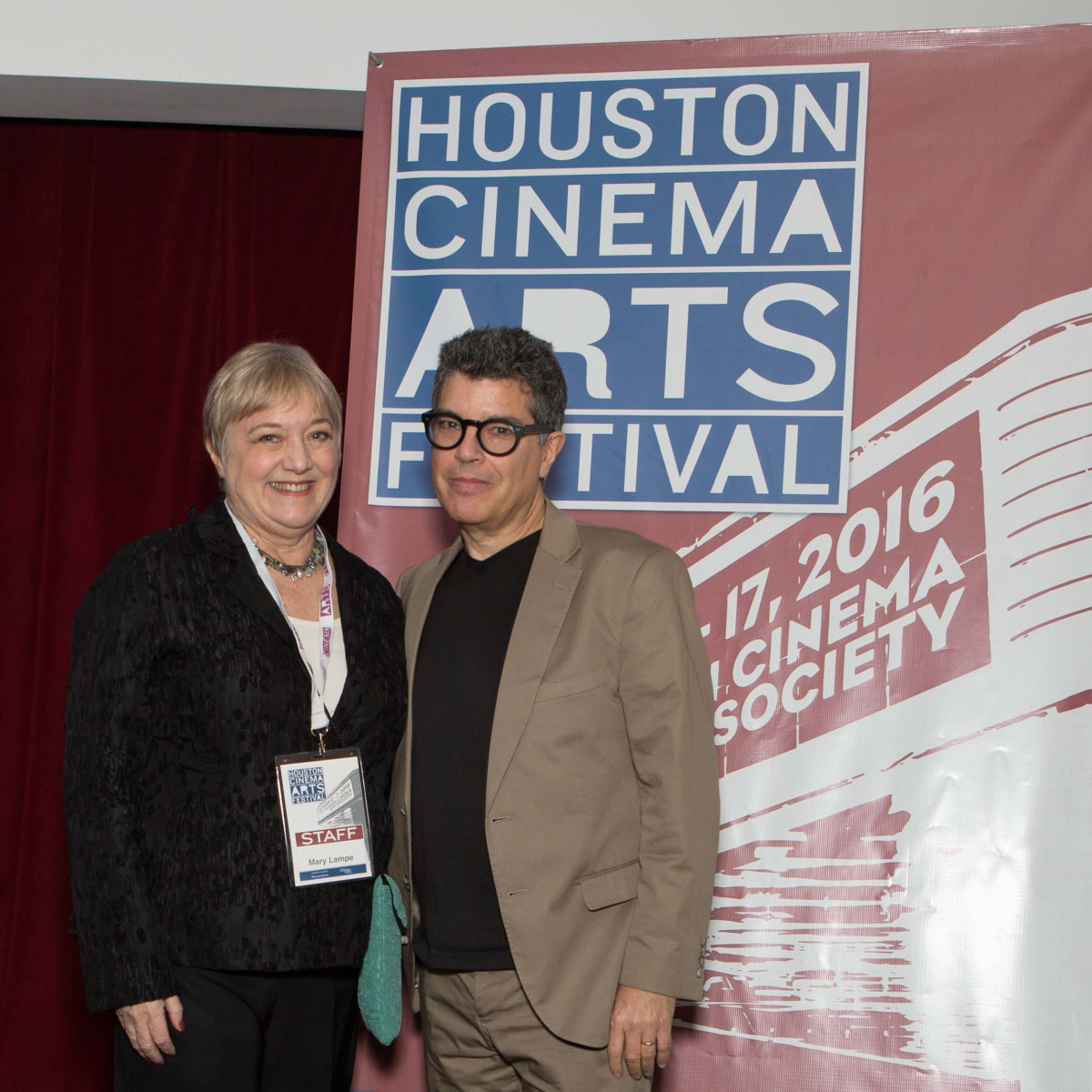 HCAF Kick-Off Party, Mary Lampe and Richard Herskowitz