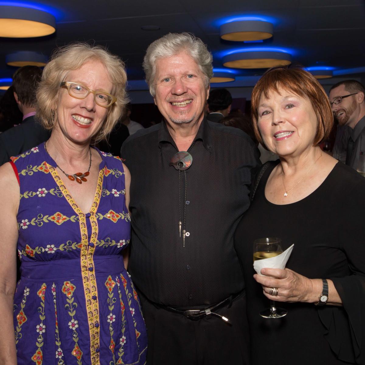 HCAF Kick-Off Party: Sarah Gish, Dave Walker, Maureen Herzog