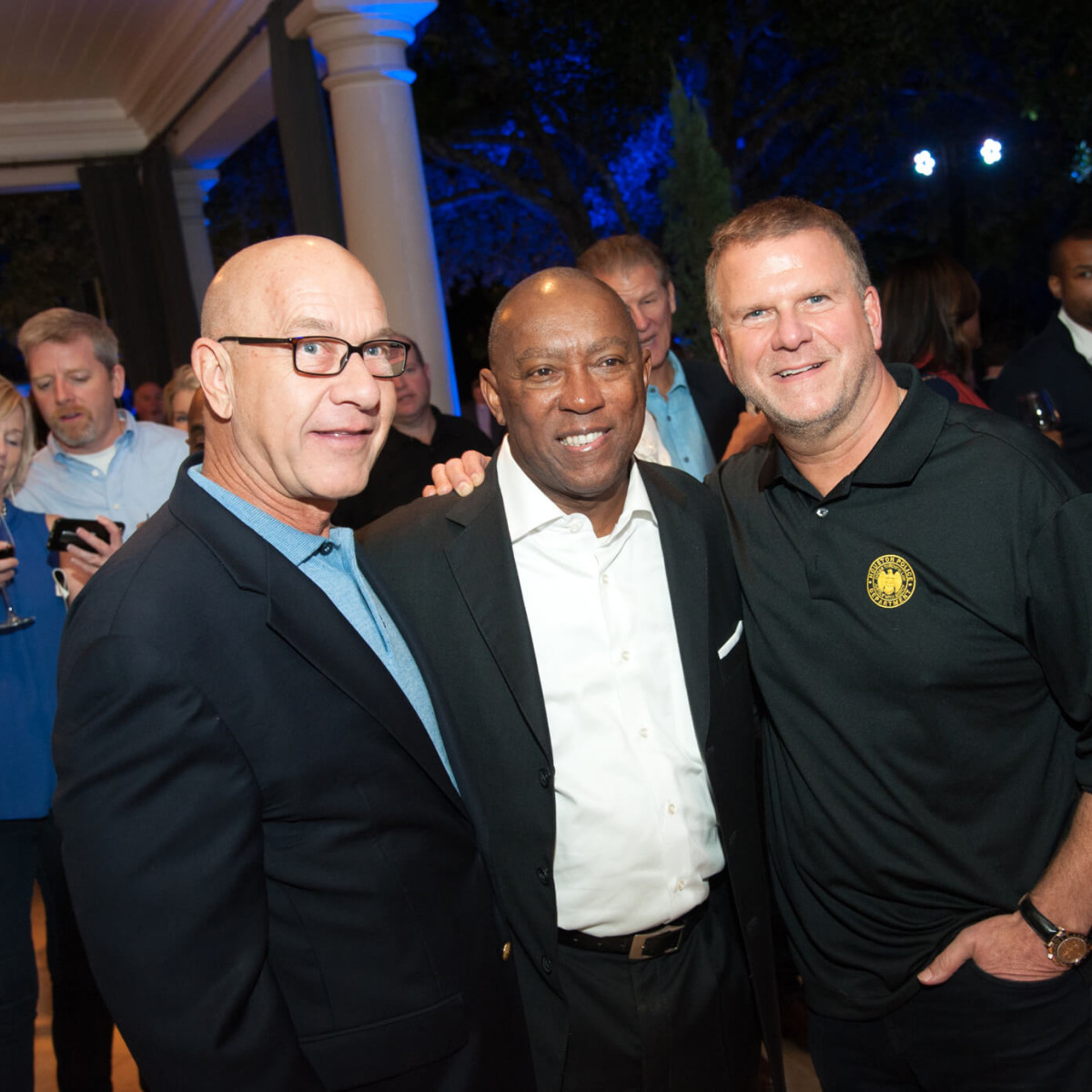 Houston, HPD True Blue Gala, Oct. 2016, Senator John Whitmire, Mayor Sylvester Turner, Tilman Fertitta