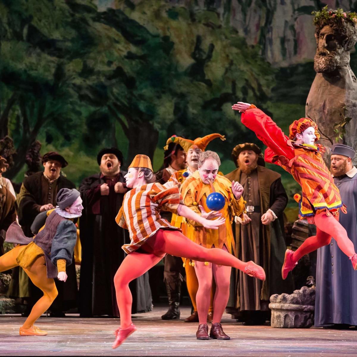 Houston Grand Opera Faust, HGO Chorus; HGO Supernumeraries
