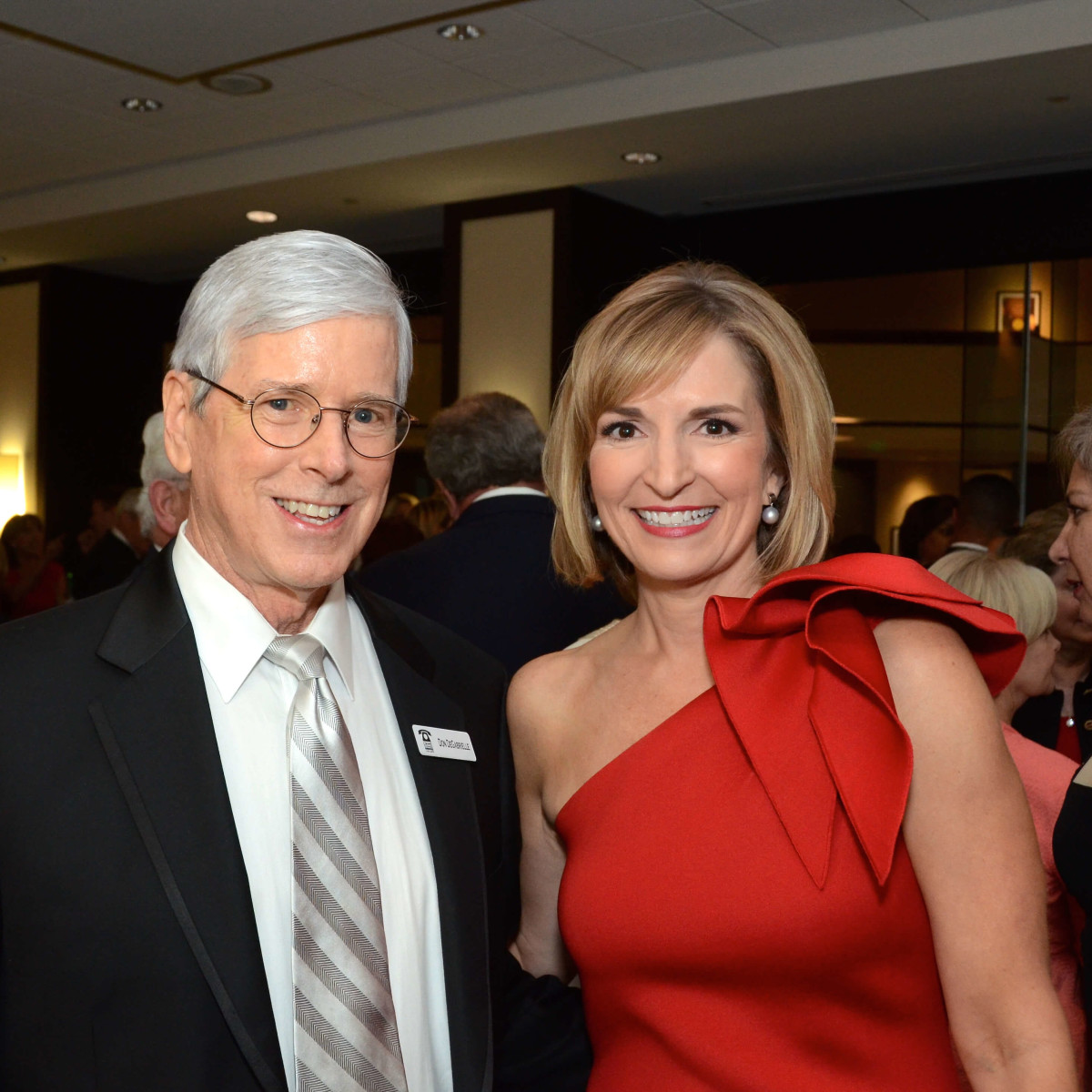 Houston, Crime Stoppers of Houston gala, Nov. 2016, Don DeGabrielle, Devon Anderson