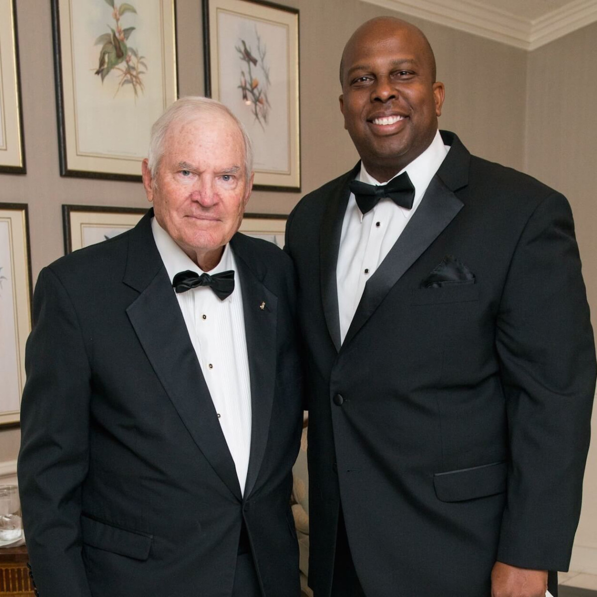 Walter McReynolds, Donald Bowers, Rice Honor Gala