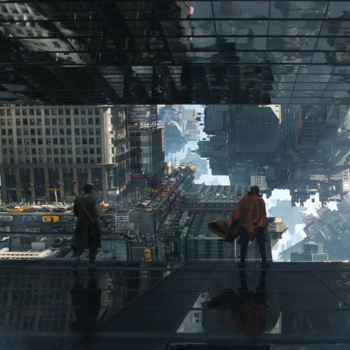 Magic landscapes in Doctor Strange