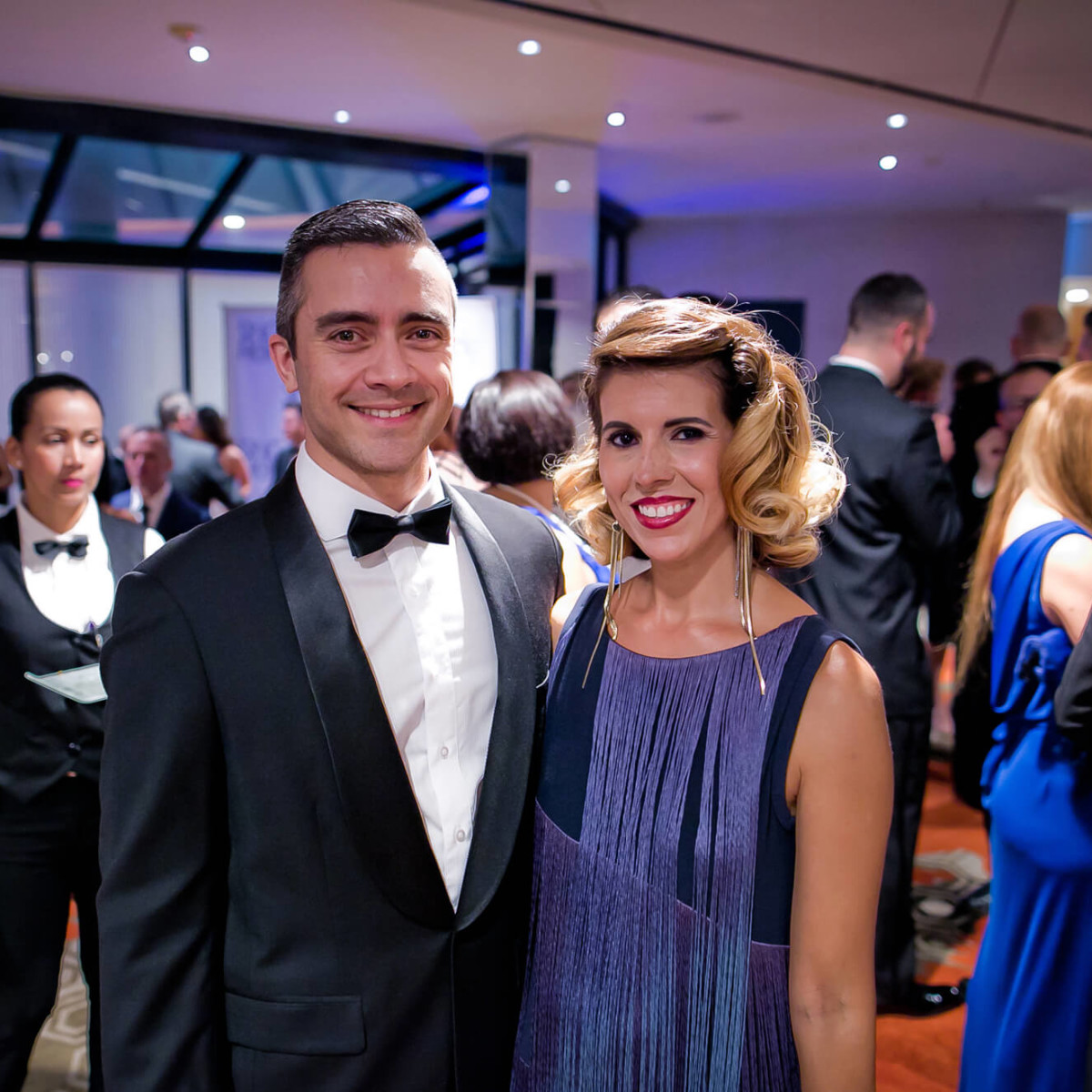 Houston, Sing for Hope gala, Nov. 2016, Fernando Aramburo, Sarah Aramburo
